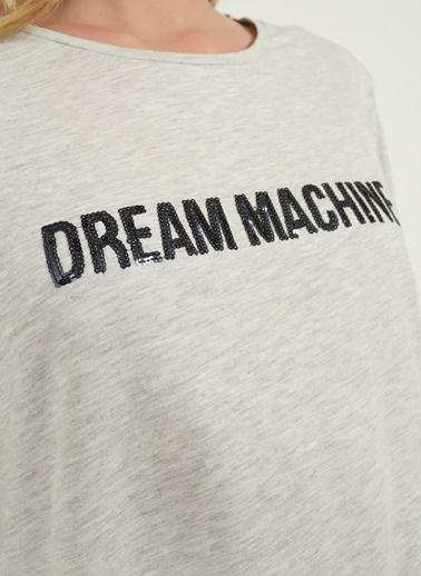 Payet İşlemeli Tişört-People By Fabrika